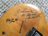 Amazing Circa 1967 Gibson Chuck Berry Autographed Guitar