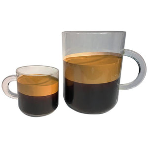 Amazing Pop Art Andy Warhol Style Gigantic Lucite Espresso Cups