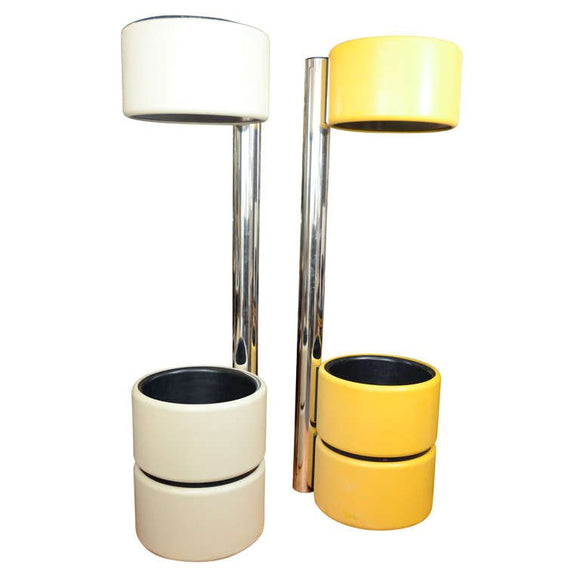 Amazing and Unusual Mod Floor Lamps Style of Joe Colombo