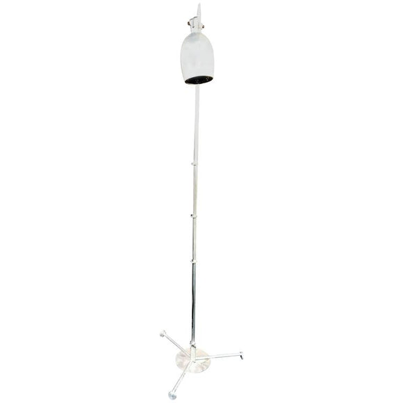 Art Deco Aluminium Floor Lamp in the Manner of Warren McArthur