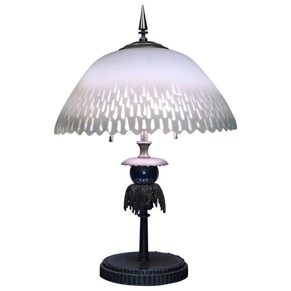 Beautiful French Art Deco Lamp