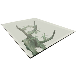 Beautiful Sculptural Bronze Tree Coffee Table