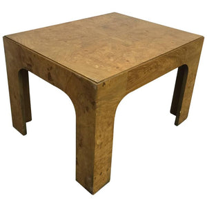 Burl Wood Coffee Table by Milo Baughman, circa 1970