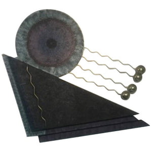 Wonderful Curtis Jere Abstract Wall Sculpture in Hand-Painted Metal and Brass