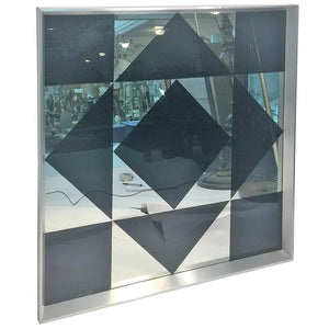 Dramatic Verner Panton Pop Art Geometric Mirror