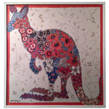 Exceptional Flower Power Kangaroo Wall Hanging by Salvatore Ferragamo