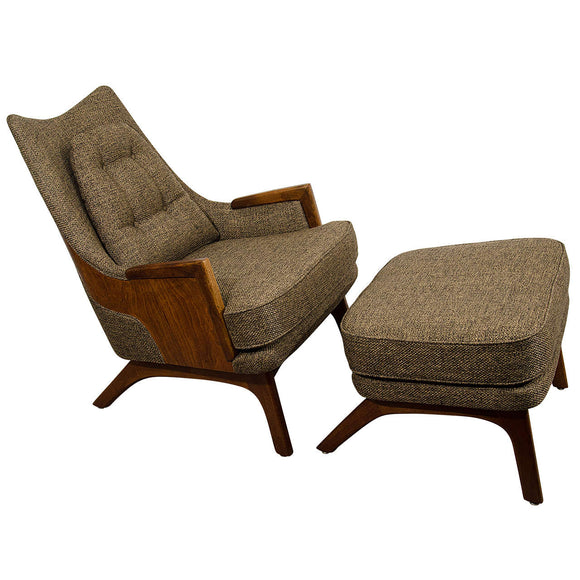Fantastic Design Midcentury Adrian Pearsall Lounge Chair with Ottoman