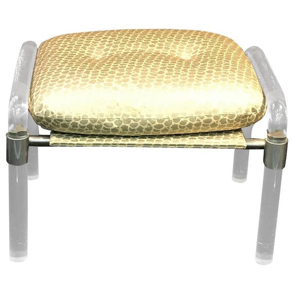 Gorgeous Lucite Bench in the Manner of Charles Hollis Jones