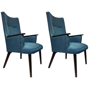 Great Pair of Hans Wegner Style Armchairs