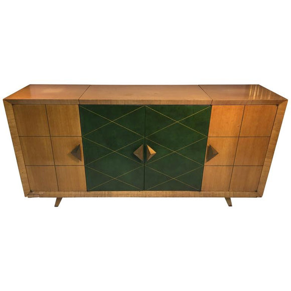 High Style Design Tommi Parzinger Bar Cabinet