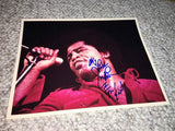 "James Brown Autographed ""I Feel Good"" Photo"