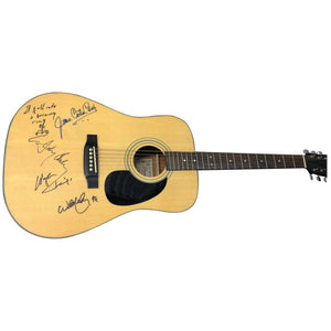 Johnny Cash and June Carter Cash Autographed Guitar