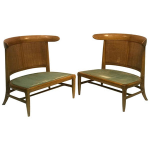 Outstanding Pair of Chairs in the Manner of Harvey Probber