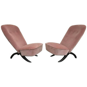 "Pair of Theo Ruth for Artifort ""Congo"" Chairs, circa 1950"