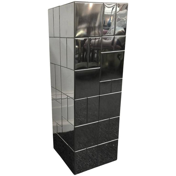 Paul Evans Chrome Cityscape Pedestal