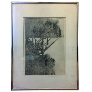 Peter Winslow Milton, The Jolly Corner First Proof Etching