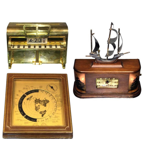 Three Novelty Clocks