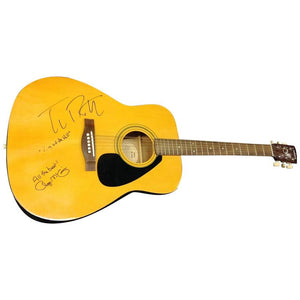 Tom Petty and Roger McGuinn Autographed Guitar