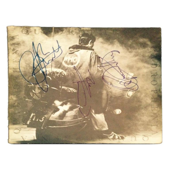 Who Autographed Quadrophenia and Tommy Album Covers