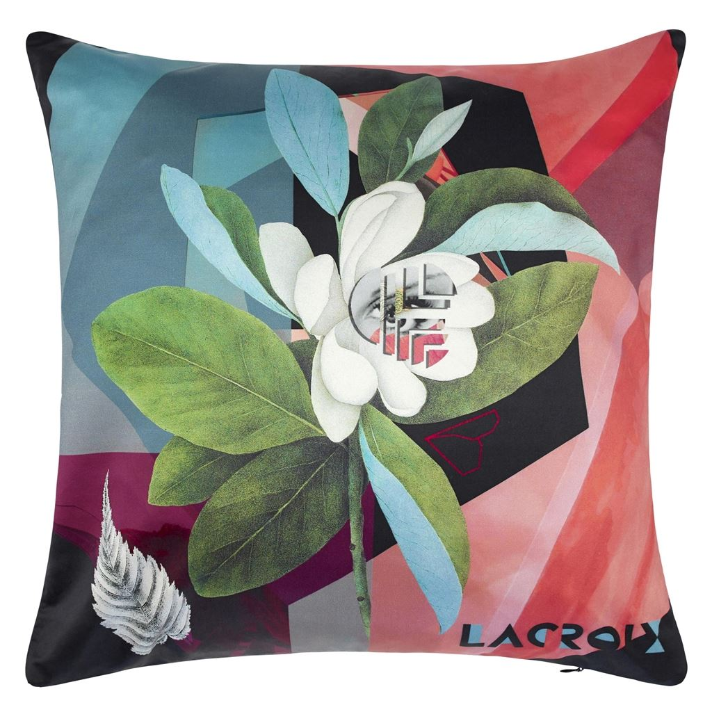 Cubic Orchid Multicolore Cushion