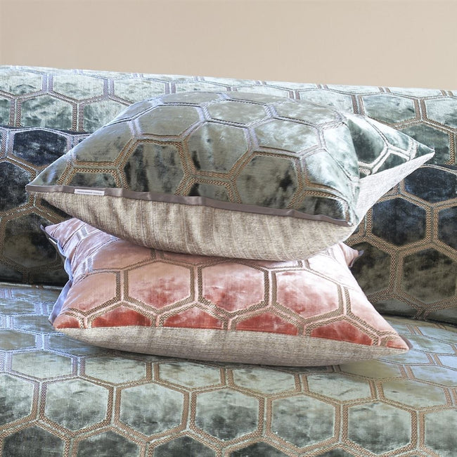 Almofada Designers Guild Manipur Coral - stoc-casa-online.myshopify.com - Loja Online