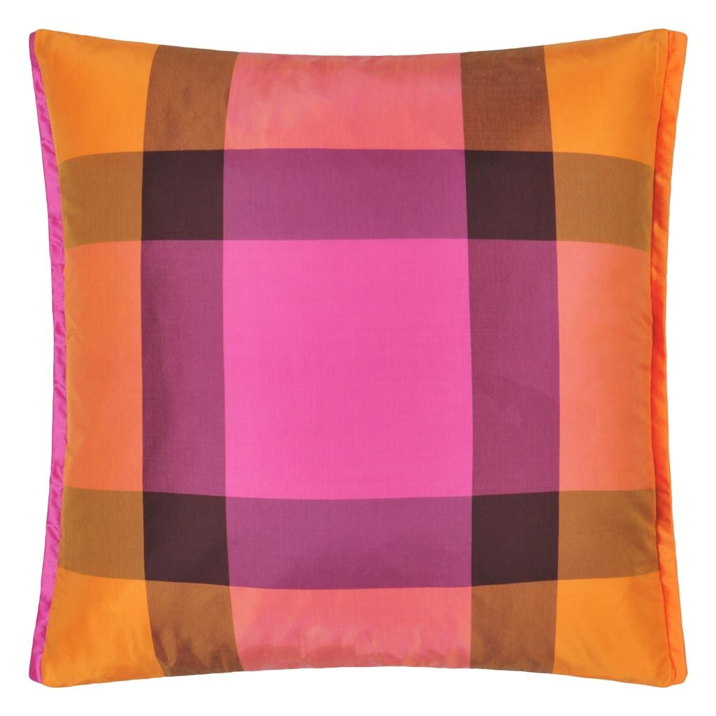 Varanasi Fuchsia Cushion