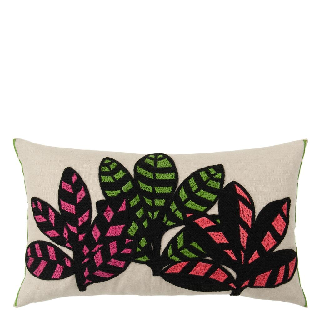 Tanjore Berry Cushion