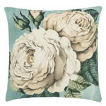 Almofada John Derian The Rose Swedish Blue