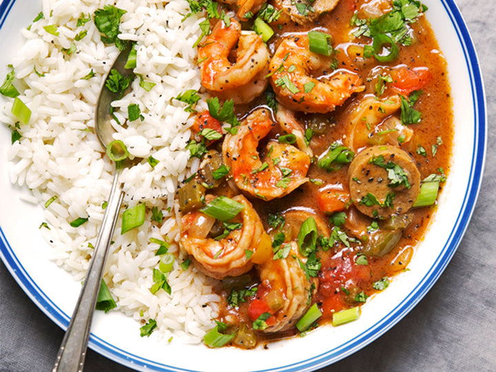 New Orleans Gumbo With Shrimp & Sausage