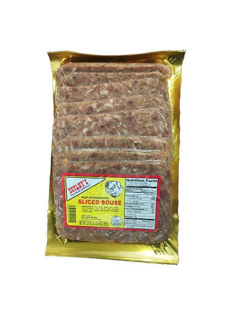 Bryant's Sliced Souse 6-Pack