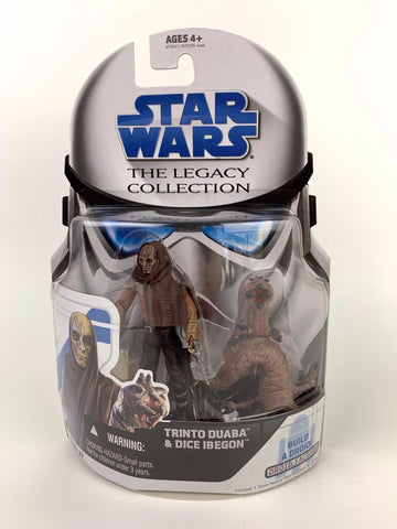 Star Wars Legacy Collection Trinto Duaba & Dice Ibegon BD 37 Cantina Alien (ANH)