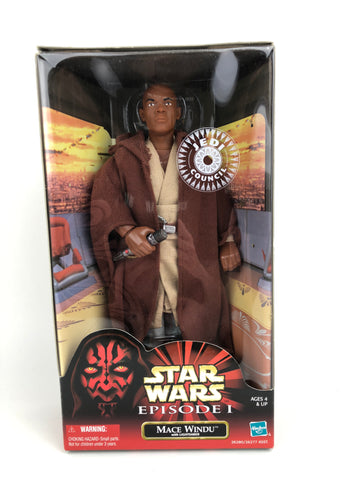 "Star Wars Episode 1 12"" 1/6 Scale  - Jedi Master Mace Windu"