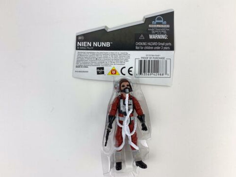 Star Wars Legacy Collection Nien Nunb (B-Wing Pilot) BD19 Loose Complete