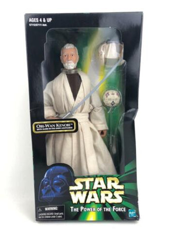 "Star Wars Power of the Force 2 (POTF2) 12"" 1/6th Jedi Master Obi-Wan Kenobi"
