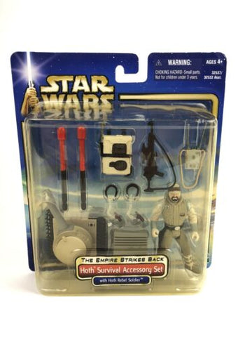 "Star Wars Saga Empire Strikes Back 3.75"" Figure Accessory Set - Hoth Survival"