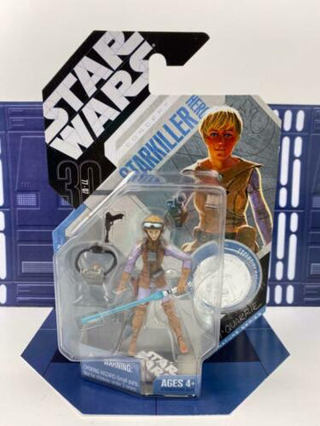 Star Wars 30th Anniversary (TAC) MCQUARRIE CONCEPT Starkiller Hero #37 - W/ Coin
