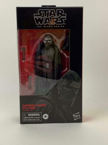 "Star Wars Black Series 6"" Supreme Leader Kylo Ren #90 Rise of Skywalker In-Stock"