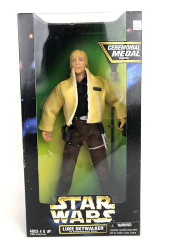 "Star Wars Action Collection POTF2 12"" (1/6 Scale) Luke Skywalker Ceremonial Gear"