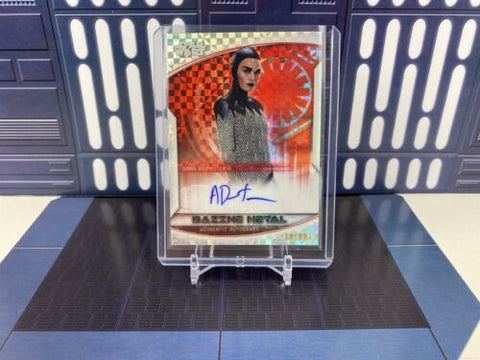 2020 Topps Star Wars Chrome Perspectives Anna Brewster On-Card Auto /99