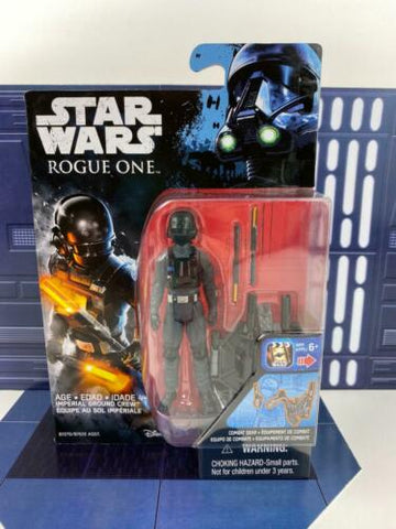 "Star Wars Rogue One 3.75"" Figure MOC - Imperial Ground Crew - Hasbro 2016"