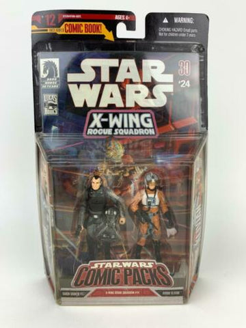 Star Wars 30th Comic Packs X-Wing #12 Soontir Fel Hobbie Klivian (Rebel Pilot)