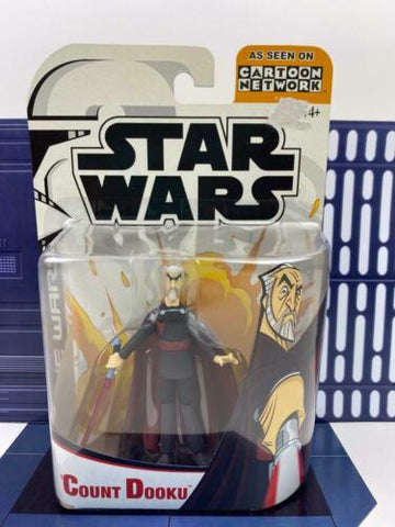 Star Wars Clone Wars (2003) Count Dooku (Sith) Cartoon Network Animated