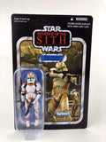 Star Wars Vintage Collection Clone Trooper (212th Battalion) VC38 UNPUNCHED ROTS