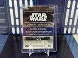 2019 Topps Star Wars Rise of Skywalker Vinette Robinson as Tyce Auto /99 - #A-VR