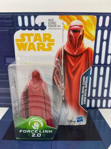 Star Wars Force Link Imperial Emperor's Royal Guard 3.75 Return of the Jedi ROTJ