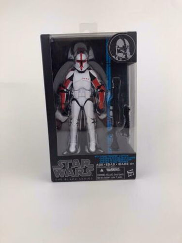 "Star Wars Black Series 6"" Clone Trooper Captain #13 (Tri-Logo) 100% Authentic"