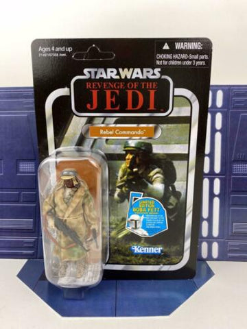 Star Wars Vintage Collection REVENGE Rebel Commando VC26 UNPUNCHED - Fett Offer