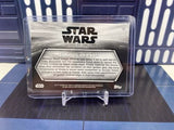 Topps Star Wars Return of the Jedi Black & White #75 (R2-D2 Ewoks) 4/5 Orange