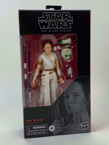 "Star Wars Black Series 6"" Jedi Rey & D-0 #91 Rise of Skywalker (TROS) In-Stock"