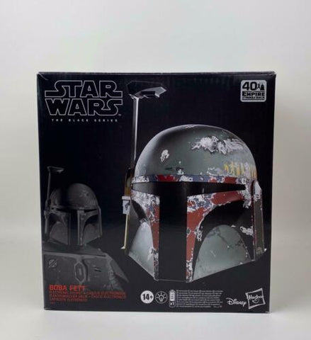 Star Wars Black Series Boba Fett Premium Electronic Helmet (40th ESB) IN-STOCK